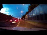 Idiot Street Race BMW M3 E92 Vs Motorcycles In Warsaw Poland