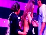 Indian Actress Gohar Khan Slapped By A Guy During A Live Show
