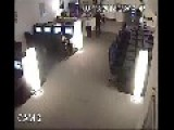Internet Cafe Robbery Caught On Tape