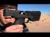 Integrally Suppressed 9mm Pistol