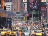 Incredible Sound In Time Square When USA Scored Goal At World Cup