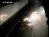 Impressive 200km H Accident During Police Chase 03 12