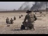 Iraqi Paramilitary In Heavy Clashes With ISIS During Iraqi PMU Advance In Northern Baiji