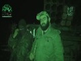 IF Firing Grad Rockets At Night In Al-Latakiya