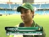 Illiterate Pakistani Cricketer Speaks Like Shit