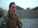 Interview Wuth A Cute Soldier Interrupted By Firefight