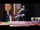 Islamist Militants Take Hostages In Sydney Café, Display Black Jihadist Flag