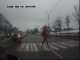 It Is So Bad In Russia, Not Even The Pedestrian Signs Are Safe