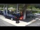 Insane Gas Pump Crash And Explosion