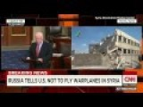 John McPig Condemns Russian Airstrikes In Syria