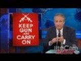 Jon Stewart Tears Into NRA, Texas Open Carry 'Gun Nuts'