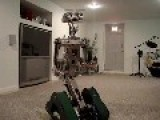 Johnny 5 Robot First Test Run