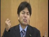 Japanese Politician Reaction After Harsh Question By Journalist