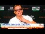 Jean Claude Van Damme Gets His Panties In A Bunch And Walks Out Of Interview