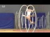Jenny Hoffman Performs Wheel Gymnastics