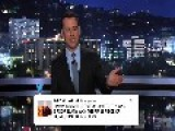 Jimmy Kimmel Reacts At An Angry Kanye West