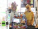 Japan: Tokyo Diners Choose Kentucky For Christmas
