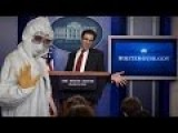 Josh Earnest Loses Control During Press Briefing