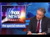 Jon Stewart Tears Into Fox: '24 Hours A Day Jerking Yourself Off'