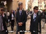 John Kerry Offers Solutions To The Israel - Palestine Conflict