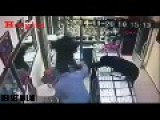 Jewellery Shop Owner Fights Off 3 Armed Robbers
