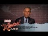 Jimmy Kimmel Mean Tweets, President Obama Version