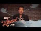 Jimmy Kimmel Live Mean Tweets - Music Edition #3