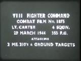 John Oliphint & Bills Buzz Boys WWII P-51 Gun Camera Footage