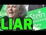 JILL STEIN LIAR Hillary Recount SCAM !