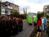 Junta Punishers Getting Bitch-slapped! Or: Ukraine Crisis | Woman Beats Up Ukrainian Solder! | English Subtitles