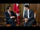 Justin Trudeau Creating Bypass To Trump's Wall