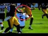 Jim Ross Calls Antonio Brown's Karate Kick FOOTAGE
