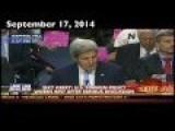 John Kerry Likes To Salute Code Pink