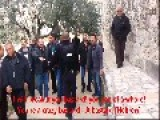 Jordanian Waqf Attacking Jewish Visitors In Temple Mount Jerusalem, Israel