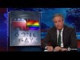 Jon Stewart Explores The GOP's Probably Fleeting Embrace Of Gay Marriage
