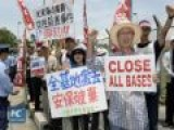 Japanese Demand US Troops Out Of Okinawa