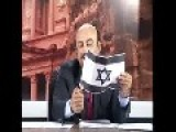 Jordanian TV Host Burn Israel's Flag On National TV
