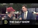 Jordan Klepper Fingers The Pulse - Conspiracy Theories At A Trump Rally
