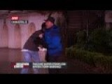 Jim Cantore Knees Interloper In The Groin