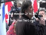 JDL Protest At Palestine House November 23 2014 Toronto Ontario