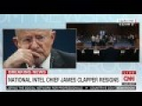 James Clapper Submitted Letter Of Resignation