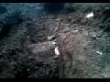 JCB 8045 Zts Mini Excavator Digging Trench