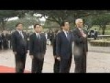 Japanese PM Pays Respect To Victims Of Pearl Harbor