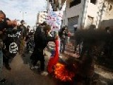 Jihadists In Gaza Rally Against France, Support Islamic State