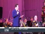 Joseph Kobzon Accompanied By Orchestra Of The Ministry Of Internal Affairs Of Russia Performs In Donetsk