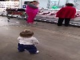 Joyful Baby Joey Delights Strangers In The Supermarket