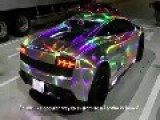 Japanese Lamborghini With Custom LED Lighting