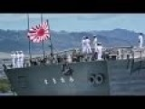 Japanese Navy Enters Pearl Harbor Flying The Rising Sun