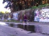 Jump Over Creek Canal Fail