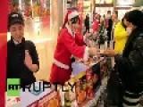 Japan: See Tokyo KFCs SWAMPED As 'Christmas Fried Chicken' Craze Kicks Off